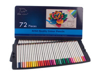 packing boxes books - Colored Pencils Pack with Tin Case Great Art School Supplies For Kids Adults Coloring Books Soft Core Colored Pencils