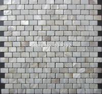 ingrosso cucina madreperla della perla madre-Offerta speciale ! Shell Mosaic Tiles, 15 * 25 * 2 piastrelle in madreperla naturale, piastrelle backsplash cucina, piastrelle del pavimento della parete del bagno