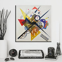 Wholesale Kandinsky Abstract Paintings - ZZ2089 Abstract Wall Art Pictures For Living Room Wassily Kandinsky oil art painting on canvas for Home Decor Canvas Paintin