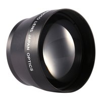 Wholesale 52mm dslr for sale - Group buy Freeshipping Camera DSLR Accessories HD Super Telephoto Lens Universal mm Professional Digital x Zoom Lens for Gopro for Xiaoyi