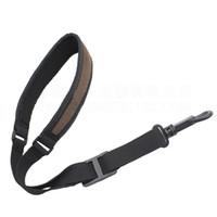 Wholesale Tenor Sax Accessories - Wholesale- Black Style Shoulders Alto Sax Straps Tenor Adjustable Saxophone Strap Accessories Free shipping