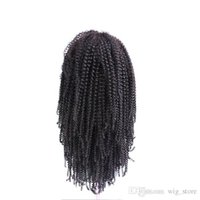 STOCK Remy Full Lace Perruques Kinky Curl 8