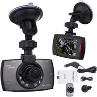 cámara de visión nocturna del vehículo al por mayor-G30 HD 1080P Cámara del coche Coche DVR Novatek 96220 Vehículo que viaja Fecha Registrador de visión nocturna tacógrafo de 2.7 pulgadas LCD