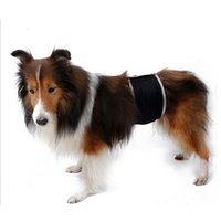 Wholesale Dog Sanitary Diapers - Ohbabyka Cloth Diapers 2017 Fashion Male Pet Dog Health Physiological Pant Diaper Puppy Dog Sanitary Underwear