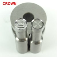 Wholesale Tdp Press Stamp - CROWN Stamp Circlar Round Die Mold  Press Mold Punch Die Mould for Single Punch Press Machine TDP-0 1.5T 5T(8mm)