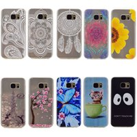 Wholesale Purple Butterfly Iphone Cases - Eiffel Tower Flower Soft TPU Case For Huawei P9 P8 Lite Y6 Y625 Y635 Y5C G8 Honor 4X 5X Butterfly Paisley Blossom Dreamcatcher GEL Cat Skin