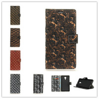 Wholesale Lenovo Metal Case - Metal Wind PU Leather Covers Cases For Lenovo ZUK EDGE Phone bags Cases Coque Gold Skull Point Golden Horse Silver Horse Skin