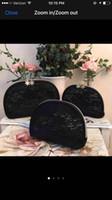 ingrosso merletti di regalo borse-Donne marchio di neve famosa marca 3 pz / set pizzo caso cosmetico di lusso trucco organizzatore sacchetto di cortesia sacchetto della pochette boutique regalo VIP