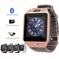 smartwatches для детей оптовых-DZ09 Smart Watch GT08 браслет Android Smart SIM интеллектуальные Smartwatches могут записывать состояние сна 100 шт. С розничной упаковке