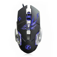 Wholesale New Wired Gaming Mouse Professional Gamer Mouse Mice Buttons DPI Computer Mouse Gaming USB Optical For Laptop Desktop