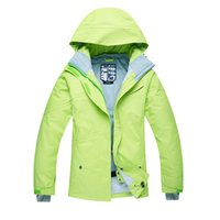 Wholesale NEW model High Quality Women Ski Jacket Snowboarding Solid color Warm Waterproof Windproof Breathable Skiing Jackets Clothes
