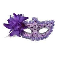 medias mascarillas de colores al por mayor-8 tipo de color seleccionar mitad superior de la cara Máscara princesa fiesta de baile máscaras de color dibujo media máscara de cara máscara de mariposa de flores envío gratis
