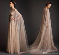 fas elbisesi dubai toptan satış-2019 Abiye Uzun Kollu Abaya Dubai Kaftan Fas Gelinlik Modelleri Lübnan Kişiselleştirilmiş Kristal Arapça Abiye Parti Elbiseleri