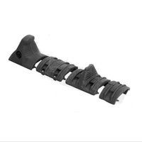 Wholesale railing kits - TacticaL Hand Stop Kit serves for airsoft Modular Full Profile Picatinny Rail Cover Polymer grip BK DE