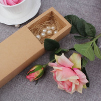 Wholesale Track Cards Wholesale - 30Pcs Vintage Wedding Invitation Cards Drawer Boxes Jewelry Box Party Invitation Card Packing Bag Craft Gift Bags Wholesale <$16 no tracking