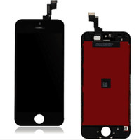 Wholesale Display I5 - LCD For IPhone 5 5G I5 LCD Display Screen Assembly With Touch Digitizer Black and White For iphone 5s 5c lCD Display