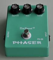 echte vintage gitarre großhandel-Vintage Analog Phaser und True Bypass PH-96 XinSound Pro Gitarren-Effektpedal