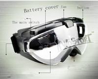 Wholesale Fans Manufacturers - Reliable tactical equipment manufacturers selling real CS glasses impact resistant super handsome light breathable fan goggles