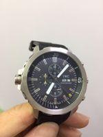 Wholesale China Wrist Watches - china 45mm case silver belt quartz noob High quality fashion Stainless steel brand new men watch wristwatch men's Wrist Watches