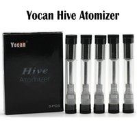 4.5ml packaging tubes - Yocan Hive Atomizer plastic tube package Juice oil Atomizer and wax Atomizer for Yocan Hive Kit in vaporizer