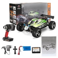 Wholesale Super Speed Rc - Super Power RC Car WLtoys A959 - B 1   18 70km h 4WD Remote Control Off-road Vehicle 2.4G 540 Brushed Motor High Speed RC Car