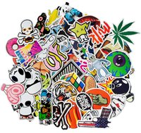 Wholesale Wholesale Body Stickers - Mega Cool Graffiti Stickers Decals Vinyls | Pack of 100 Finest Quality | Perfect To Personalize Laptops, Skateboards, Luggage, Cars, Bumpers
