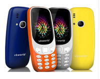 Wholesale Led Mobile Phone Screen - Vkworld Z3310 3D Screen 2.4inch 2G Mobile Phone Loud Speaker FM Radio Strong LED Light 2MP Camera Dual Sim Card