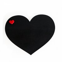Large black message boards - Heart Shape Oversized cm Fridge Magnet Dry Erase Flexible Magnetic Whiteboard Memo Pad Message Board Dialog Box Magnet