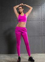 ingrosso i vestiti sexy trasportano liberamente-spedizione gratuita 2017 Donna con abbigliamento sportivo di fitness donna sexy rosso intimo