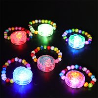 Lumineux Decoração Braçadeiras Night Reflective Wristband Pulseira LED Glow in the Dark Party Supplies Eventos Favores