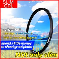 Wholesale 52 Cpl - Free Shipping ZOMEI Ultra Slim CPL Filter Polarizing Polarizer for Canon Nikon Sony DSLR Camera Lens 40.5 49 52 58 62 67 72 77 82 86mm