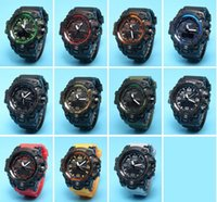 Wholesale Chronograph Watch Cheap - Cheap sell G sports Army Military Shocking Watches Mens Waterproof GWG 100 Digital Relojes Hombre Horloge Orologio Uomo Montre Homme watches