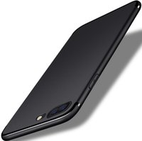 корпус телефона с отпечатком пальца оптовых-Анти-отпечатков пальцев, телефон случаях для iphone Х 7 6С 6 плюс случаях ультра тонкий полное покрытие Мягкий силиконовый ТПУ скраб случаях