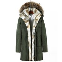 Wholesale Plus Size Snow Clothes - Raccoon Fur Hood Down Parkas Winter Jacket Long Coats Mens Outwear Overcoats Snow Jackets Warm Thickening Plus Size Clothing 2017 4XL 5XL