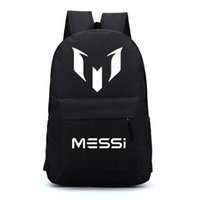 Wholesale Waterproof Backpacks For Men - Free gift Barcelona Messi backpacks waterproof jansport designer backpack men sport school bags for teenage boys girls kids