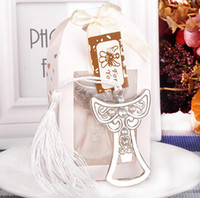 Wholesale bridal keepsake - 2017 new bridal shower favor angel bottle opener wedding favor party supplies christening favors guest keepsakes gifts