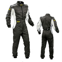 Wholesale motorcycle overalls - 2017 New Arrival OMP Karting Suit Car Motorcycle Racing Club Exercise Clothing Overalls Stig Suit Two Layer Waterproof