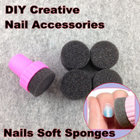 Wholesale wholesale nail supplies free shipping - Wholesale-Nail Art Tools, Nails Soft Sponges For Color Fade Manicure, DIY Creative Nail Accessories Supply + Free Shipping (NR - WS1)