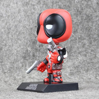 Wholesale Best Pvc Anime Model - Funko Pop X-Men Deadpool Figure Cosplay Anime Action Figure Juguetes Model Hot Kids Toys Best Gift free shipping EMS