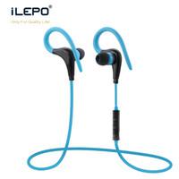 Wholesale Music Hooks - S9 Stereo MP3 Earphone Deep Bass Music Headset Bluetooth Wireless Headphones Sports Ear Hook Earphones with Mic