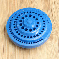 Wholesale New Arrival PC Multifunctional Blue Plastic Round Shape Drill Bit Storage Box Best Promotion