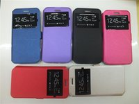 Wholesale Iphone 3g Cover Leather - For Alcatel One Touch Pixi 4 (4.0) OT-4034 Pixi 4 (3.5) Pixi 4 (6)3G OT-8050 Flash 2 OT-7049 View Windows PU Leather Case Stand Flip Cover