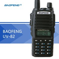 BaoFeng UV-82 Walkie Talkie Dual Band BaoFeng UV82 Radio bidirezionale 128CH Torcia Dual Display Dual Orologio per radio da caccia