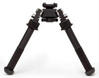 schnell r großhandel-Quick Detach Gewehr Zweibein Atlas V8 BT10-LW17 Zweibein 21,7 mm Standard Weaver Schienenhalterung mit ADM 170-S-TAC-R Hebel für Pistole / Gewehr / AR15