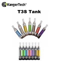 Authentic Kanger T3S BCC atomizador 3ml Bottom Coil tanque de vaporizador eGo 510 Thread Kangertech Cartomizer Vs Bud Touch O Pen Vapor Atomizers