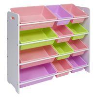 Wholesale Toy Garage Tool - Toy Bin Organizer Kids Childrens Storage Box Playroom Bedroom Shelf Drawer