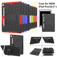 Wholesale Heavy Duty Leather - For New iPad Pro 10.5 inch Case Armor Rugged Shockproof Heavy Duty Kickstand Protective Cover Case