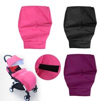Wholesale Baby Reversible Jackets - Wholesale- 1Pc Baby Booties Baby Stroller Cold Quilted Jacket Quilted Gloves Windshield Warm