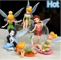 Wholesale Wholesale Miniature Gardening - Decor For Garden Fairy Garden Miniatures Fairy Genius Elf Mini Figure Character 100mm Hot Sale Free Shipping