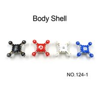 Wholesale Wholesale Body Shell Rc - Hot Sale FQ777-124   SBEGO 124-1 MIni Drone RC Spare Part Body Shell For FQ777-124 Mini Drone